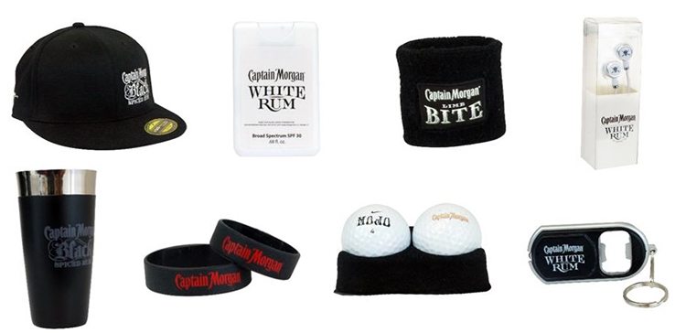 Captain Morgan Promotional Products