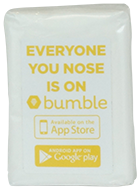 Custom Yellow Tissues for Bubmle